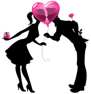 Valentine_Couple_Silhouettes_with_Heart_Balloon_PNG_Clipart_ Picture