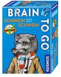 Cover von BRAIN TO GO® – Schwein oder nicht Schwein