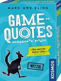 Cover von Game of Quotes - Verrückte Zitate