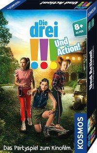 Cover von Die drei !!! Und Action!
