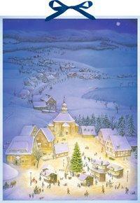 Cover von Wandkalender - Weihnachtsdorf
