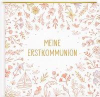 Cover von Eintragalbum - Meine Erstkommunion (Blumen)