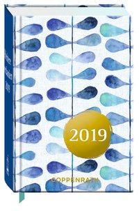 Cover von Heitere Gedanken 2019 (Blaue Blätter)