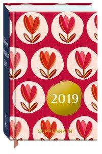 Cover von Heitere Gedanken 2019 (Rote Tulpen)