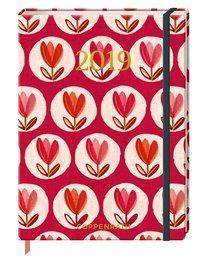 Cover von Mein Jahr 2019 (Rote Tulpen)