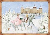 Cover von A3-Wandkalender - Weihnachten mit Aschenbrödel