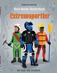 Cover von Mein Anzieh-Stickerbuch: Extremsportler