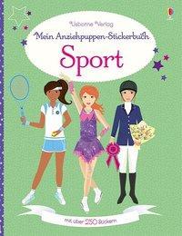 Cover von Mein Anziehpuppen-Stickerbuch: Sport