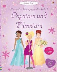 Cover von Mein großes Anziehpuppen-Stickerbuch: Popstars und Filmstars