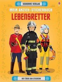 Cover von Mein Anzieh-Stickerbuch: Lebensretter