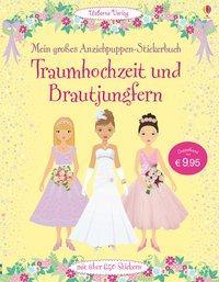 Cover von Mein großes Anziehpuppen-Stickerbuch: Traumhochzeit und Brautjungfern