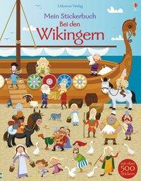 Cover von Mein Stickerbuch: Bei den Wikingern