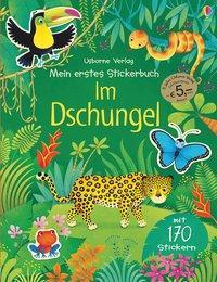 Cover von Mein erstes Stickerbuch: Im Dschungel (Jubiläumsausgabe)