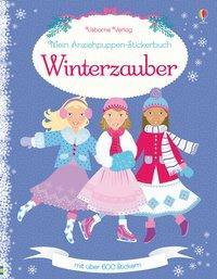Cover von Mein Anziehpuppen-Stickerbuch: Winterzauber