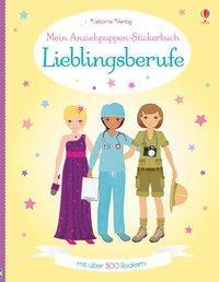 Cover von Mein Anziehpuppen-Stickerbuch: Lieblingsberufe