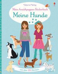 Cover von Mein Anziehpuppen-Stickerbuch: Meine Hunde