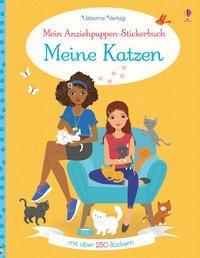 Cover von Mein Anziehpuppen-Stickerbuch: Meine Katzen