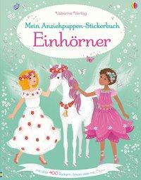 Cover von Mein Anziehpuppen-Stickerbuch: Einhörner