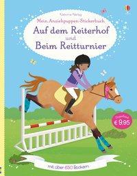 Cover von Mein großes Anziehpuppen-Stickerbuch: Auf dem Reiterhof und Beim Reitturnier