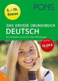 Cover von PONS Das große Übungsbuch Deutsch 5.-10. Klasse