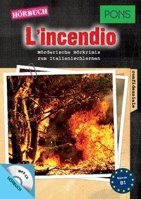 Cover von PONS Hörbuch L'incendio