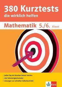 Cover von Klett 380 Kurztests Mathematik 5./6. Klasse