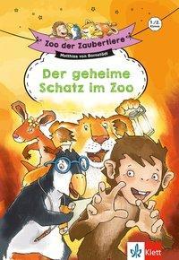Cover von Klett Zoo der Zaubertiere: Der geheime Schatz im Zoo, 1./2. Klasse