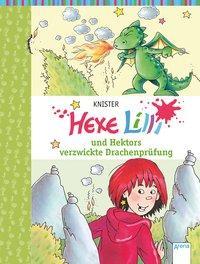 Cover von Hexe Lilli und Hektors verzwickte Drachenprüfung