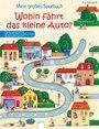 Cover von Mein großes Spurbuch - Wohin fährt das kleine Auto?