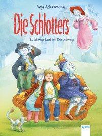 Cover von Die Schlotters. Es ist was faul im Kürbisweg