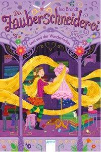 Cover von Die Zauberschneiderei (1). Leni und der Wunderfaden