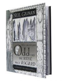 Cover von Der lächelnde Odd und die Reise nach Asgard