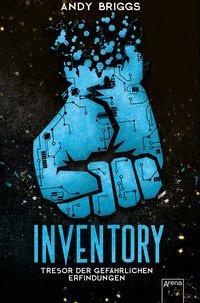 Cover von Inventory (1). Tresor der gefährlichen Erfindungen