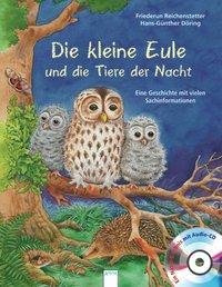Cover von Die kleine Eule und die Tiere der Nacht
