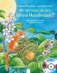 Cover von Wo versteckst du dich, kleine Haselmaus?