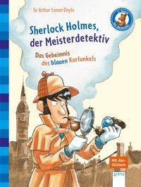 Cover von Sherlock Holmes, der Meisterdetektiv. Das Geheimnis des blauen Karfunkels