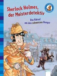 Cover von Sherlock Holmes, der Meisterdetektiv (2). Das Rätsel um den schwarzen Hengst