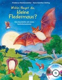 Cover von Wohin fliegst du, kleine Fledermaus?