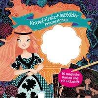 Cover von Krickel-Kratz-Malbilder. Prinzessinnen
