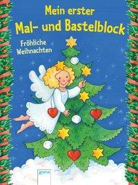 Cover von Mein erster Mal- und Bastelblock. Fröhliche Weihnachten
