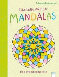 Cover von Fabelhafte Welt der Mandalas. Eine Entspannungsreise