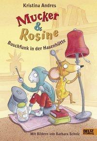 Cover von Mucker und Rosine Buschfunk in der Hasenhütte