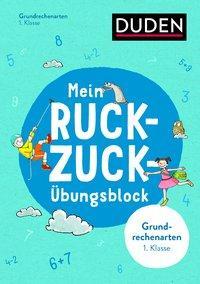 Cover von Mein Ruckzuck-Übungsblock Grundrechenarten 1. Klasse