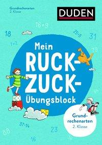 Cover von Mein Ruckzuck-Übungsblock Grundrechenarten 2. Klasse