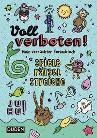 Cover von Voll verboten! Mein verrückter Rätselblock 1 - Ab 8 Jahren