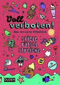 Cover von Voll verboten! Mein verrückter Rätselblock 2 - Ab 8 Jahren