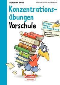 Cover von Einfach lernen mit Rabe Linus - Vorschule Konzentrationsübungen