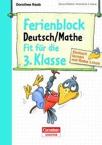 Cover von Einfach lernen mit Rabe Linus - Deutsch / Mathe Ferienblock 3. Klasse