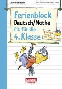 Cover von Einfach lernen mit Rabe Linus - Deutsch / Mathe Ferienblock 4. Klasse
