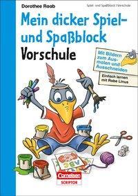 Cover von Einfach lernen mit Rabe Linus - Mein dicker Spiel- und Spaßblock